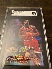 1996 Flair Showcase Row 1 Michael Jordan #23 SGC 8 NM-MT