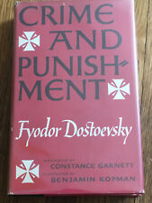 Crime And Punishment, Dostoevsky, Garnett Translation, 1956, Illustrated, Kopman