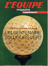 L'EQUIPE MAGAZINE N°1207 2005 open de france de golf