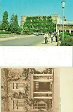 Qty 2 x POSTCARDS OF CASTLE HOTEL TAUNTON
