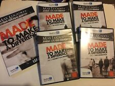 Bluefish TV Max & Jenna Lucado MADE TO MAKE A DIFFERENCE 4 DVD Set + Guide NEW!
