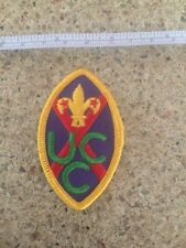 "RARE! Boy Scouts American badge/patch ""CANADIAN UNITED CHURCH CANADA (UCC)"""