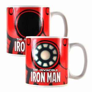 OFFICIAL MARVEL COMICS HEAT CHANGING IRON MAN MUG CUP NEW & GIFT BOXED