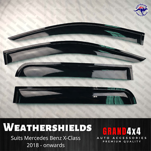 Weathershields Window Visors for Mercedes Benz X-Class 2017-2020