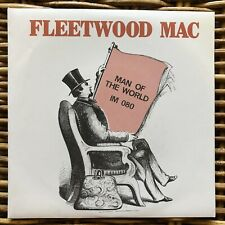 """FLEETWOOD MAC Man of the World Peace and Love promo 7"""" 45 giri vinyl Red Ronnie"""