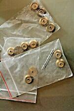 LOT 12 roues laiton  pour TRAIN échelle O