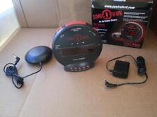 Sonic Alert Sonic Bomb Alarm Clock with Super Shaker SBB500ss