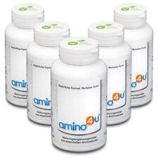 Amino 4 U - veganes Eiweiss - alle 8 essentielle Aminosäuren 5 x 120 Presslinge