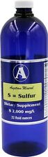 Sulfur 32oz. - Liquid Mineral