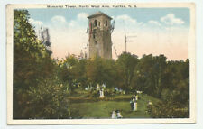 Memorial Tower North West Arm Halifax Nova Scotia Postcard 1922 Vintage Canada