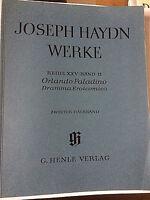 Haydn - Orlando Paladino - Zweiter Halbband