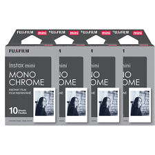 40 Prints Fujifilm instax mini B&W Monochrome Instant Film for Fuji 9 8 70 90