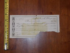 PROMISE NOTE TO PAY MILBURN WAGON COMPANY 1882 RIDGELAND OHIO DOCUMENT