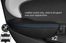 Punto Azul 2X Fundas de puerta trasera de reposabrazos cuero adapta BMW Mini Cooper 14-17 F55