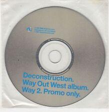 (GU301) Deconstruction, Way Out West - 1997 DJ CD
