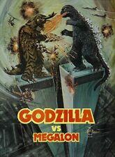 Godzilla Vs Megalon [Dvd] Manufactured On Demand Region 1 Jet Jaguar Ships Fast!