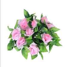 9Ft Artificial Fake Silk Rose Flower Ivy Vine Garland Wedding Party Home Decor