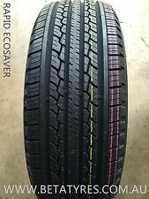 1 X 265/70R15 INCH RAPID TYRE ECOSAVER 110H FREE DELIVERY in selected areas