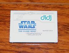 Leap Frog Diji - Star Wars The Clone Wars Game Cartridge Only! *GAME ONLY*
