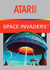 Space Invaders Atari 2600 Framed Print (Retro Gaming Picture Poster Artwork Art)