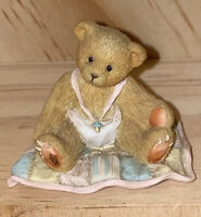 Cherished Teddies ❤️ A Gift To Behold 599352 Baby Girl On Quilt Figurine w/ Box