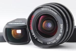 """Near Mint ""VOIGTLANDER SUPER WIDE HELIAR 15mm F4.5 ASPHERICAL Leica from Japan"