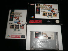 Super Nintendo, Snes - olympic summer games - 100% boxed