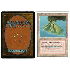 MTG Magic ♦ Revised Edition ♦ Volcanic Island English Good (B)
