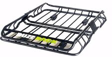 "BUZZ RACK Mounted Roof top Cargo Basket Luxury Luggage Carrier L47""xW36""xH6"""