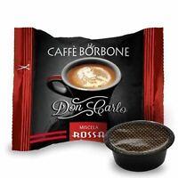 100 CAPSULE DON CARLO CAFFE BORBONE LAVAZZA A MODO MIO ROSSA (0,200€/Pz)