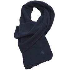 Bufandas de hombre en color principal azul de poliéster