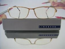 f5f03b04c6 LINDBERG STRIP 9521 TITANIUM Eyeglasses GOLD+COPPER