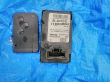 RENAULT MEGANE MK2 IGNITION CARD READER 8200074331A & KEYCARD S118539001E