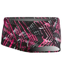 NIKE PERFORMANCE Mens Shark Competition Mod Swim Briefs Racer Pink Size 32 NWT