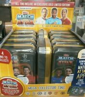 Topps Match Attax 2019/20 Trading Cards Game Collector Mega Tins + Limited Ed