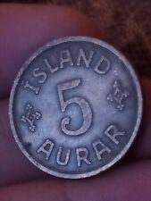 More details for 1931 iceland 5 aurar km# 7.1 islands konungur 091119
