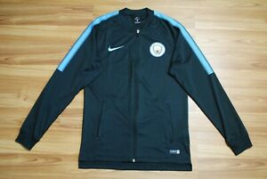 MANCHESTER CITY TRACK TOP JACKET NIKE AUTHENTIC 2017-2018 SIZE MENS SMALL MINT