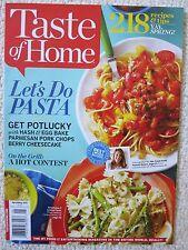 Taste Of Home Magazine April / May 2015 Let's Do Pasta