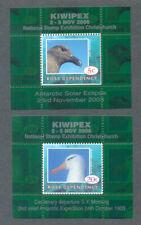 Ross Dependency- Birds-2 x min sheets scarce mnh-Kiwipex 2006-New Zealand
