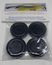 Maximum Velocity Pinewood Derby MATCHED SET of Stock Wheels