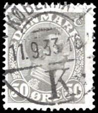 Scott # 122 - 1922 - ' King Christian X '