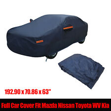 Full Car Cover Waterproof Resistant Protection Fit Ford Lexus Dodge Chevy Audi
