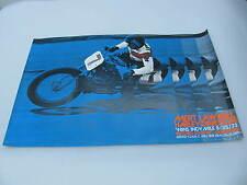Original 1973 Harley Davidson Race Poster Indy Mile Mert Lawwill