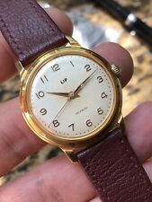 Vintage French Lip Mens Watch Hand-winding Cal. R23B 34,2mm Gold Plated
