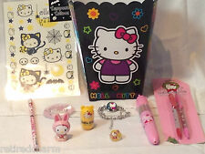 ❤️HELLO KITTY LOT 😺 Christmas 🎄Gift Basket Birthday Party Favors 2 Avail NEW❤️