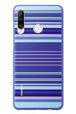 Official Huawei P30 Lite Striped Blue Polycarbonate Case - 51993075