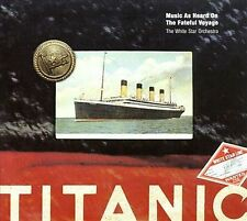 Titanic: Music As Heard On The Fateful Voyage 200 Ex-library - Disc Only No Case
