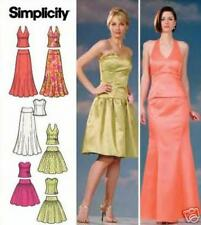 Party Evening Gown Pattern 6-12 Simplicity 4580 OOP