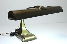 Vintage Art Specialty Co Brass Chicago Mid Century Modern Light Gooseneck Lamp