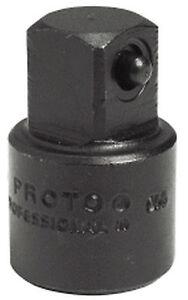 "PROTO J7650 IMPACT DRIVE ADAPTER 3/8"" F X 1/2"" M"